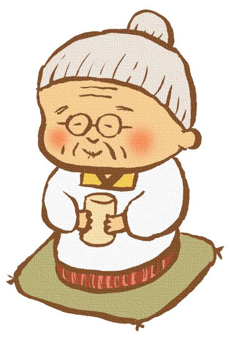 70歳おばあちゃんの画像