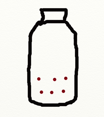 ペットボトルで作る、子供のおもちゃ