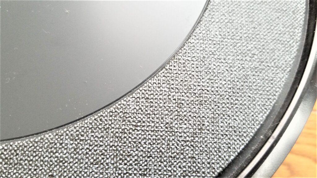 ルンバi3 ファブリック調部分アップ